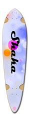 SHAKA Dart Skateboard Deck v2