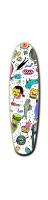 Custom Riviera Loose Grooves Skateboard 7 x 26