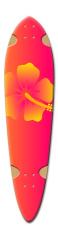 Beach Colors Dart Complete Skateboard Deck v2