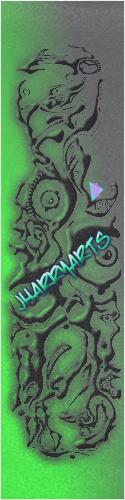 J.Harry Arts Grip Custom skateboard griptape