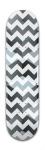 Cubey Zigzag lines Park Skateboard 8 x 31 3/4
