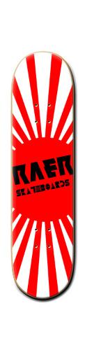Japanese RAER Banger Park Skateboard 8 1/4  x 32