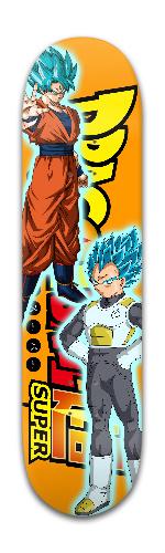 Saiyan Gods Banger Park Skateboard 8 x 31 3/4