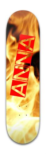 FIRE Banger Park Skateboard 8 x 31 3/4