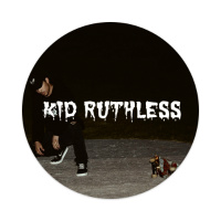 kid ruthless Sticker 4 x 4 Circle