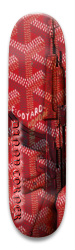 goyard cuz i got hard Park Skateboard 8.5 x 32.463