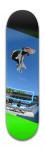 Luan nollie-flip Park Skateboard 8 x 31 3/4