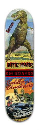 'BITE MARK' Series #1 Banger Park Skateboard 8 x 31 3/4