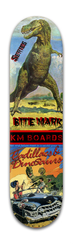 'BITE MARK' Series #1 Park Skateboard 8 x 31 3/4