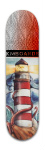 'Tentacle Lighthouse' Board Special Park Skateboard 8 x 31 3/4