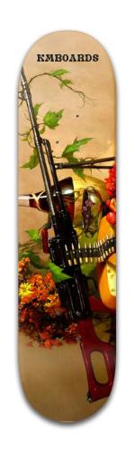 'Modern Day Machine Gun' Series Boa Banger Park Skateboard 8 x 31 3/4