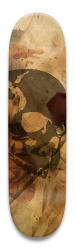 rose skull Park Skateboard 8.5 x 32.463