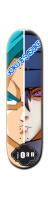 goku & sasuke Park Skateboard 8 1/4  x 32