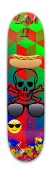 CCOLOUFUL BEAUTIFUL Park Skateboard 7.88 x 31.495