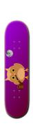 smoking owll Park Skateboard 8 1/4  x 32