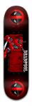 Deadpool Banger Park Skateboard 8.5 x 32 1/8