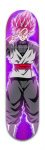 Dragon Ball Z Black Goku Deck Banger Park Skateboard 8 x 31 3/4