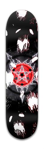 Ripple Demon Pentagram Banger Park Skateboard 8 x 31 3/4