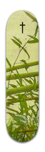 Cross and Bamboo Banger Park Skateboard 8 x 31 3/4