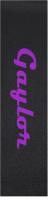 gaylor Custom longboard griptape