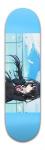 Date A Live! Kurumi Banger Park Skateboard 8.5 x 32 1/8