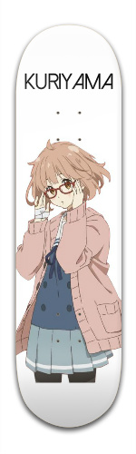 Beyond The Boundary Kuriyama Banger Park Skateboard 8.5 x 32 1/8