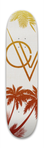 California Brush (Linen Texture) Park Skateboard 8 x 31.775