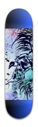Calls The Ravens Banger Park Skateboard 8 x 31 3/4