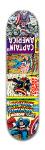 Captain America Comics Banger Park Skateboard 7 7/8 x 31 5/8