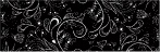 Black Vines Sticker 11.5  x 3.75 Bumper Sticker