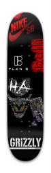 Swaggy J Park Skateboard 7.88 x 31.495