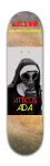 Gas Nun, Mellow skateboards, Atticu Banger Park Skateboard 7 7/8 x 31 5/8