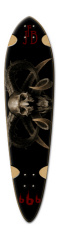 Death awaits Dart Complete Skateboard Deck v2