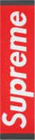supreme box logo griptape Custom skateboard griptape