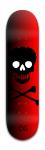 DemonicGamer Banger Park Skateboard 8 x 31 3/4