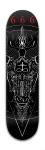666 Banger Park Skateboard 8 x 31 3/4