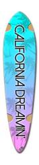 California Dreamin' Dart Skateboard Deck v2