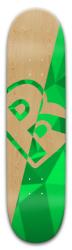 HalfGreenCristal Park Skateboard 8 x 31.775