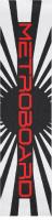 METROBOARD! Custom longboard griptape