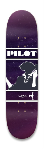 SpacePilot Park Skateboard 8.25 x 32.463