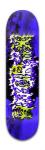 HNQRIIX Banger Park Skateboard 8 x 31 3/4