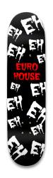 euro house Park Skateboard 8.25 x 32.463