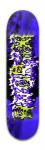 HNQRIIX Banger Park Skateboard 7 7/8 x 31 5/8