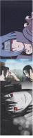 Sasuke vs. Itachi Custom longboard griptape