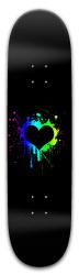 Black Hearts skateboard Park Skateboard 8 x 31.775