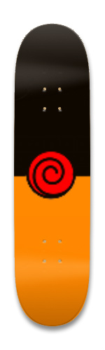 uzumakiboard2 Park Skateboard 8.25 x 32.463