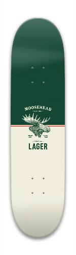 Moosehead Park Skateboard 7.88 x 31.495