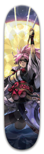 Guilty Gear Baiken Park Skateboard 8 x 31.775