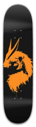 Naruto x Kurama Park Skateboard 8 x 31.775