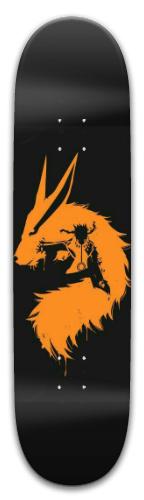 Naruto x Kurama v2 (same) Park Skateboard 8 x 31.775